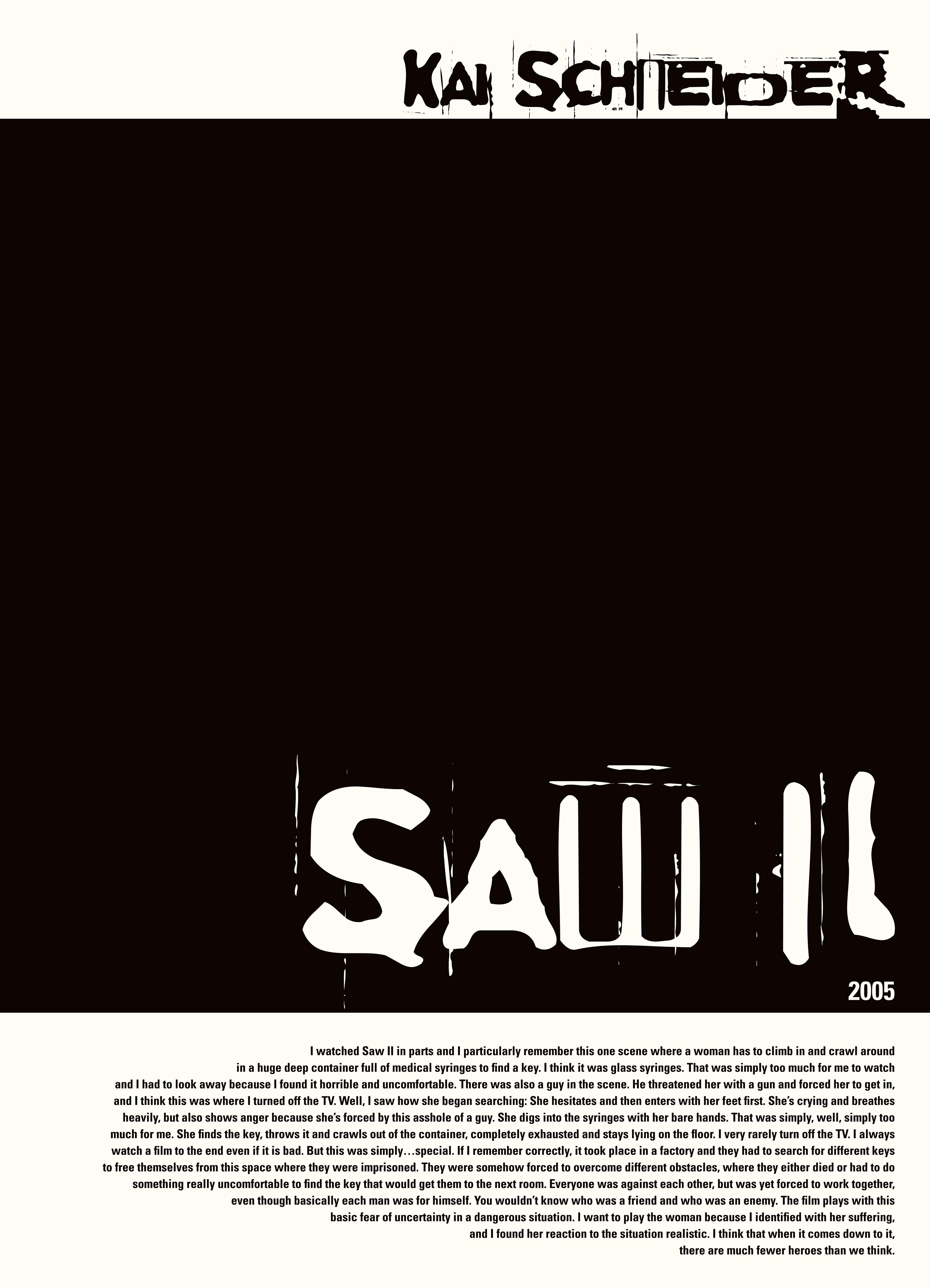 Saw II-Kai Schneider